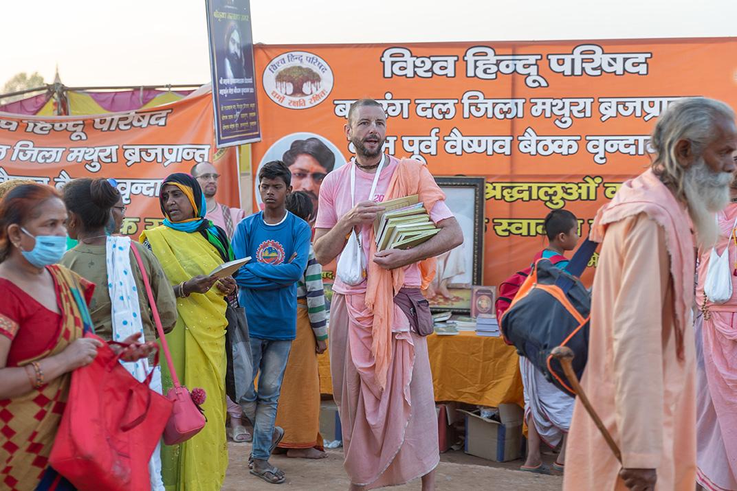 Kumbha Mela - Book Distribution